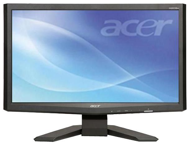 acer x203hb cran d 39 ordinateur fiche technique prix et les avis. Black Bedroom Furniture Sets. Home Design Ideas