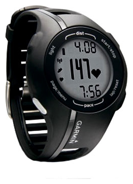 garmin forerunner 210 instructions